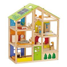 Ook op dit poppenhuis 10% korting. Kijk snel op onze website; http://www.houtenspeelgoedhuis.nl/houten-poppenhuis-69.html