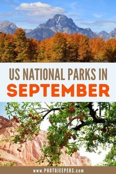 List of must-visit US national parks in September that you are not going to want to miss! Why visit a National Park in September | What to pack for a National Park trip in September | List of awesome National Parks to visit in September #nationalparks #fallvacation #photojeepers Usa Travel Guide, Travel Usa, Travel Tips, Travel Guides, Travel Destinations, Instagram Inspiration, Travel Inspiration, Best Places To Travel, Cool Places To Visit