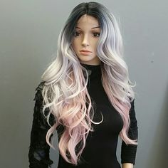 #31 Instant Synthetic Wig SOM2/PKW with lace at the part only. Sensational  Accessories
