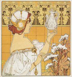 muchastyle:  Henri Privat-Livemont, 1901