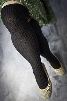 Bess Cashmere Slouch Rib Knee Socks