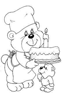 50 Desenhos De Ursos Urso Para Colorir Pintar Imprimir Com
