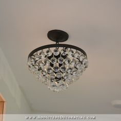 Pantry Lighting (Plus, Adapting A Flush Mount Light For A Slanted Ceiling) Outdoor Projects, Diy Projects, Pantry Lighting, Slanted Ceiling, I Saw The Light, Flush Mount Lighting, Light Project, Home Accessories, Chandelier