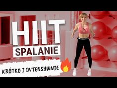 HIIT SPALANIE - krótki i intensywny trening | Codziennie Fit - YouTube Hiit, Gym Equipment, Exercise, Youtube, Ejercicio, Excercise, Work Outs, Workout Equipment, Workout