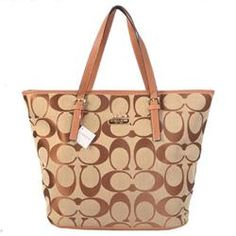 This Pin was discovered by Chrissy Atwell. Discover (and save!) your own Pins on Pinterest. | See more about coach purses, tote bags and light browns.