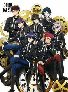 Kk Project, K Project Anime, Anime K, I Love Anime, Anime Boys, Kawaii Anime, Old Fan, First Encounter, Movies