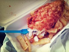 God bless the Burton Road Chippy around the corner from m new flat. I will be visiting often.