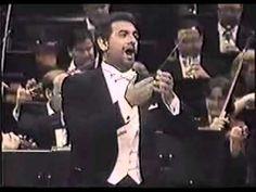 Placido Domingo - Te quiero morena (zarzuela jota)
