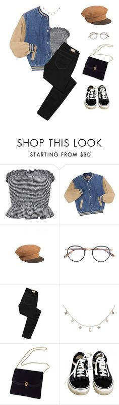 """""""Mustang Kids. - Zella Day"""" by greciapaola ❤ liked on Polyvore featuring Garrett Leight, Paige Denim, Luna Skye and Vans"""