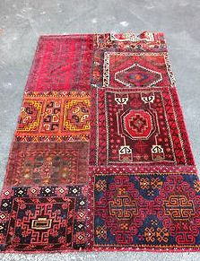 Patchwork Persian rugs - my new obsession