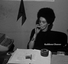 Kathleen Neal Cleaver was the first women to be a member of The Black Panther Party decision-making body. In 1981, she received a full scholarship from Yale University and graduated two years later summa cum laude with a Bachelor of Arts degree in...