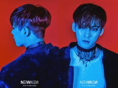 BTOB releases red and blue photos for 'New Men' | allkpop.com
