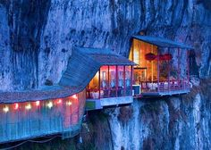 Fangweng - Yichang, China | Top 50 World's Most Amazing Restaurants With Spectacular Views