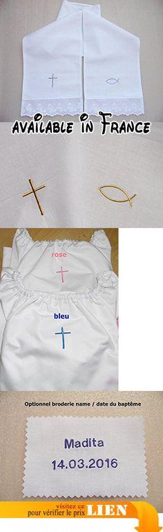 Echarpes de baptême,80 cm x17 cm( bébé ).  #Guild Product #GUILD_BABY