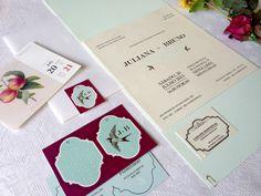 Identidade Visual Casamento por Boda Design - www.bodadesign.com.br #weddingstationary #stationary #weddinginvitation #invitation