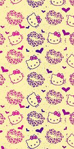 Hello kitty wallpaper on iphone