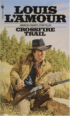 """Read """"Crossfire Trail A Novel"""" by Louis L'Amour available from Rakuten Kobo. Rafe Caradec—gambler, wanderer, soldier of fortune—was as hard a man as the battlefields and waterfronts of Latin Americ. Good Books, My Books, Books To Read, Forever Book, Western Comics, Books For Boys, Classic Books, Pulp Fiction, Book Authors"""