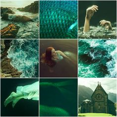 An aesthetic for my story, 'Sea of Sorrows' from Masquerade: Oddly Suited. #YA #romance