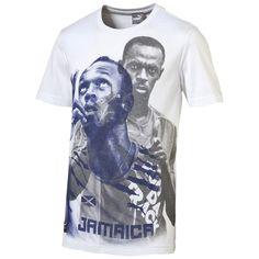 Usain Bolt T-Shirt    Dieses stylische T-Shirt von PUMA ist eine Hommage an Usain Bolt, dem schnellsten Mann der Welt....