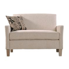 I pinned this Sutton Loveseat from the Neutral Territory event at Joss and Main!