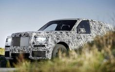 Rolls Royce Cullinan SUV revealed in new camouflaged images