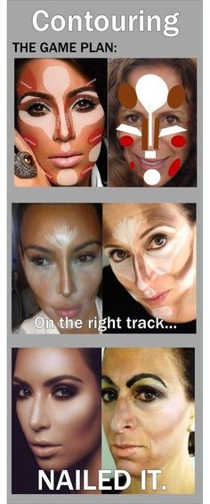 Contouring! Ha, ha! NAILED IT. @Gloss48