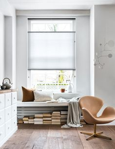 Raamdecoratie vtwonen Fotografie: Sjoerd Eickmans Styling & Home: Kim van Rossenberg