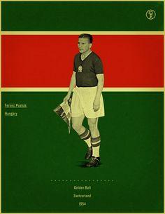 Aniversário: Ferenc Puskás, Hungria - http://www.colecaodecamisas.com/aniversario-ferenc-puskas-hungria/ #colecaodecamisas #Copadomundo1954, #Puskas