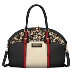 4d5a7898718d Disney Caught In The Moment Mickey Mouse And Minnie Mouse Handbag by The  Bradford Exchange  Handbags  Amazon.com