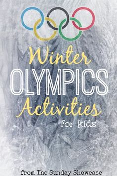 Winter Olympics Activities for Kids - Here Come the Girls