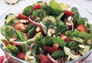 Strawberry Spinach Salad - The Pampered Chef® Thanks to my good friend Carole Gerke for this wonderful recipe and her news letter! Perfect for these ridiculously hot May days!