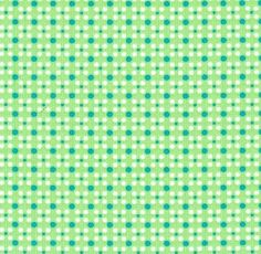 Chirpy Lola Stars-n-Spots in Green -  1 m