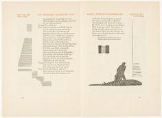 Hamlet, 1928. Design by Eric Gill & Edward Johnston. Illustration by Edward Gordon Craig. Translation by Gerhart Hauptmann. Germany.