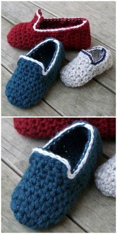 Crochet Baby Loafers Patterns You'll Love These Baby Crochet Loafers Make The Perfect Newborn Gift Crochet Toddler Hat, Crochet Baby Boots, Booties Crochet, Crochet Baby Clothes, Crochet For Boys, Crochet Bear, Crochet Slippers, Love Crochet, Easy Crochet