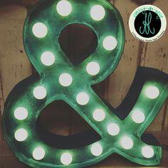 led leuchtbuchstaben für coole kinderzimmer deko | basteln ... - Kinderzimmer Deko Dawanda