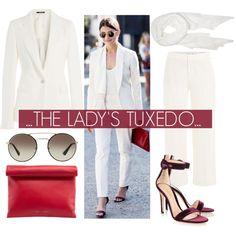 The Lady's Tux.... Outfit Idea 2017
