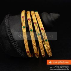 #Beauteous #gorgeous #attractive #gold #bangles from our collection.