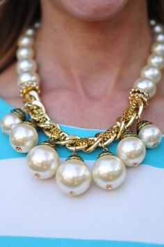 Pearls Are A Girls Best Friend Necklace   Hope's