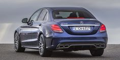 "The 2015 executive sedan bruiser comes in regular and S form, with 469 and 503 hp respectively—but you can only get ""Race"" mode on the S. It hits the ground in North America in April. Amg C63, Future Car, Mercedes Amg, Car Car, Photo Galleries, Racing, Gallery, Cars, Roof Rack"