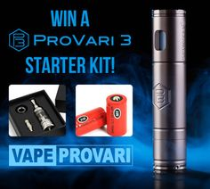 Win a ProVari3 Starter Kit You can help me win by clicking this link http://www.viralsweep.com/rin/9151/2218562