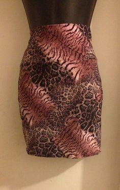 Animal Print Pencil Skirt by JOSHMARFASHIONZ on Etsy, $12.99
