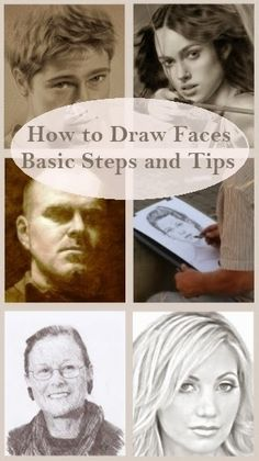 How To Draw Faces – Basic Steps and Tips