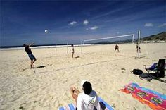 Head north of the #Pismo Beach Pier to find the sand #volleyball courts. The perfect backdrop to develop your skills.