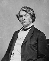 Sen. Charles Sumner, an anti-slavery legislator from Massachusetts, was attacked on the Senate floor in May 1856 by Rep. Preston Brooks, a cane-wielding South Carolinian.  Sumner had vilified Brooks's uncle, Sen. Andrew Butler of South Carolina, who, along with Illinois Sen. Stephen A. Douglas, co-authored the Kansas-Nebraska Act. http://www.civilwar.org/education/teachers/lesson-plans/the-gathering-storm/the-gathering-storm-for.html