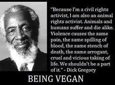 Being Vegan By Dick Gregory