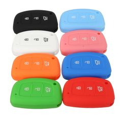 Car Remote Key Silicone Fob Protector Cover Case Three Button For Hyundai I40 Mistra Solaris