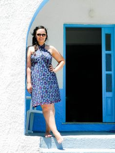 Greek Summer now on www.thedailylace.com Fashion Blogger Style, Summer style