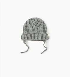 Basic knit hat - Available in more colours -ZARA