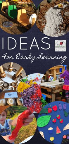 Early Learning Activities, Ideas & Programming Support for EC Educators!