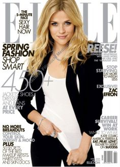 April 2009 cover with Reese Witherspoon